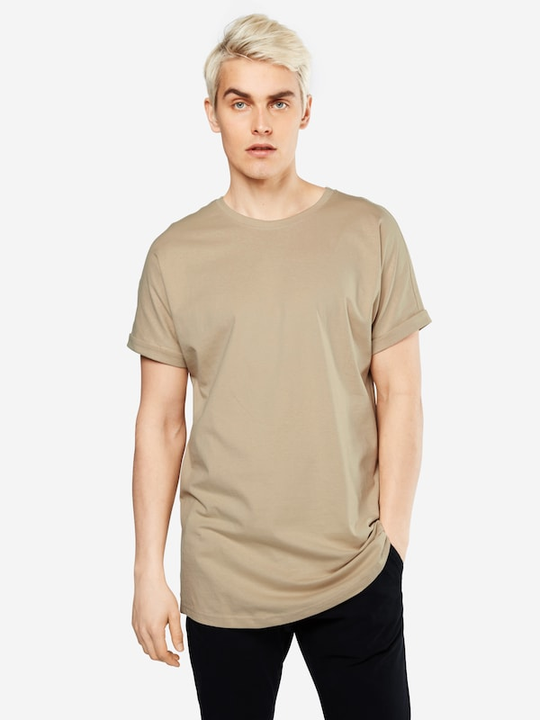 Urban Classics T-Shirt 'Long Shaped Turnup Tee'