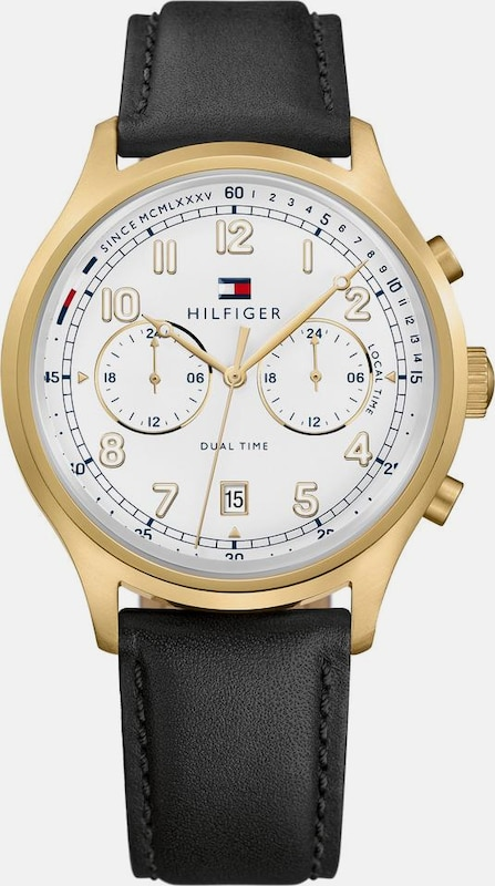TOMMY HILFIGER Multifunktionsuhr 'Casual Sport, 1791386'