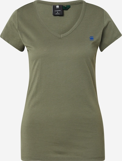 G-Star RAW Shirt 'Eyben V' in khaki, Produktansicht