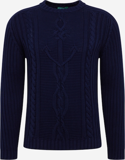 Megztinis 'SWEATER L/S' iš UNITED COLORS OF BENETTON , spalva - tamsiai mėlyna, Prekių apžvalga