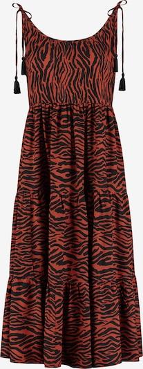 Shiwi Plážové šaty - tmavočervená / čierna, Produkt