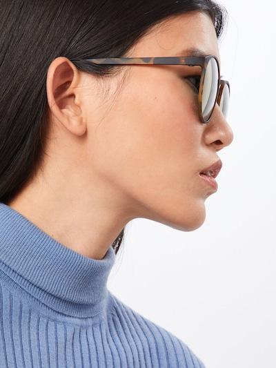 LE SPECS Sonnenbrille 'Swizzle' in braun: Rückansicht