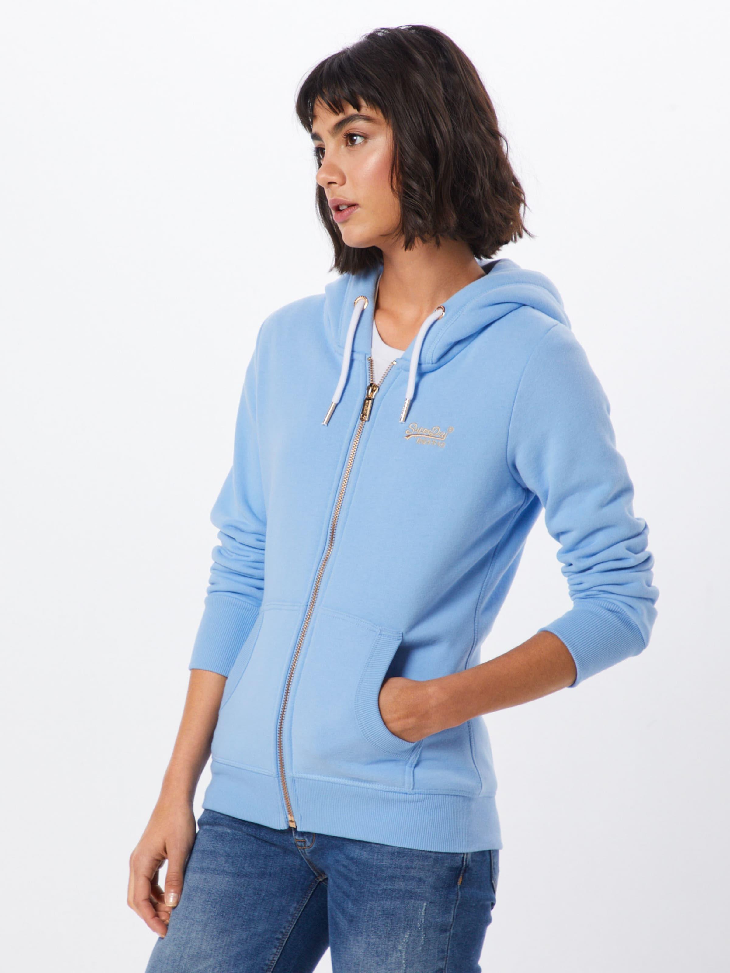 Superdry Ziphood' Clair 'orange Label De Veste Elite En Bleu Survêtement 0wPknX8O