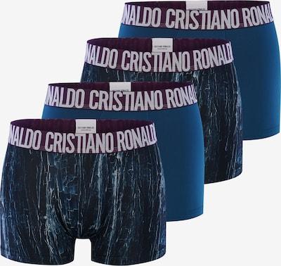 CR7 - Cristiano Ronaldo Boxershorts 'Fashion' in nachtblau / himmelblau, Produktansicht