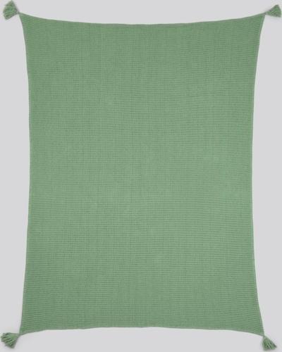 TOM TAILOR Home Decke mit Quasten in grün, Produktansicht