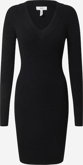 OBJECT Pletena obleka 'Fae Thess' | črna barva, Prikaz izdelka