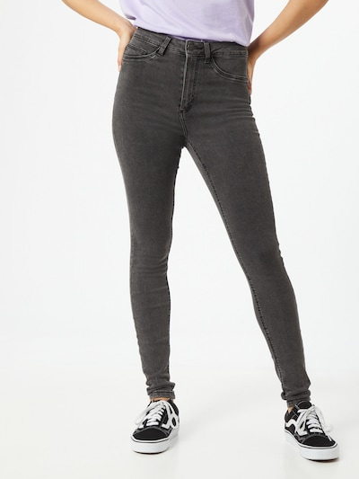 Noisy may Jeans 'Callie' in grey denim, View model