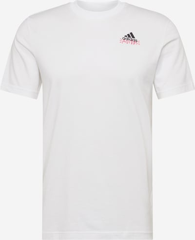 ADIDAS PERFORMANCE Functioneel shirt 'Doodle Emblem' in de kleur Wit, Productweergave