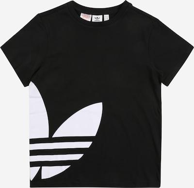 ADIDAS ORIGINALS Shirt 'BIG TREFOIL TEE' in schwarz / weiß, Produktansicht