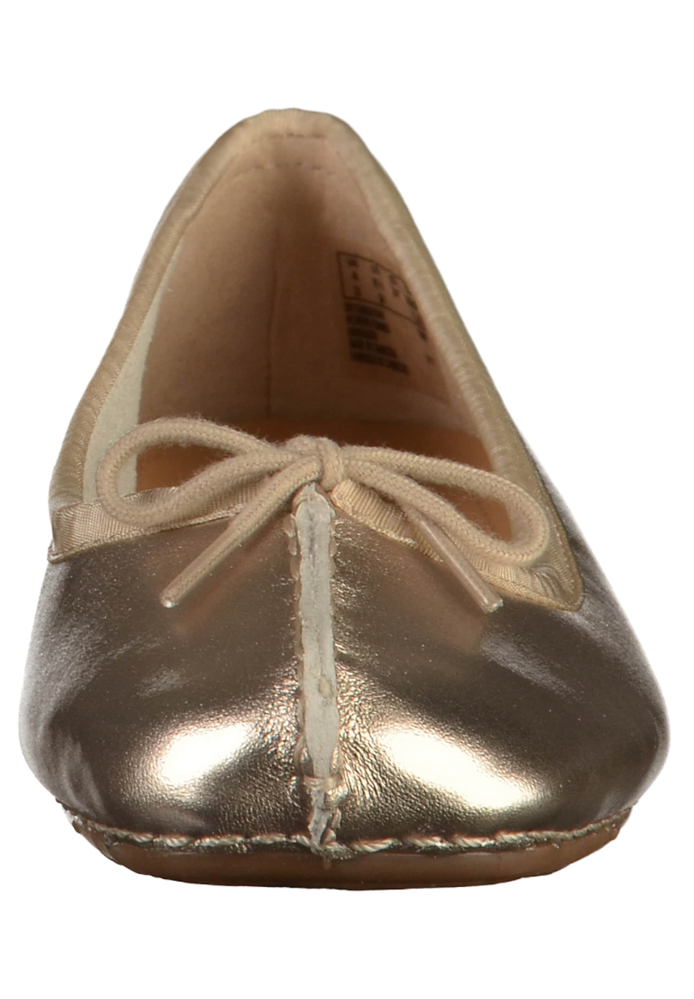 ice' 'Freckle Ballerina CLARKS Leder aus CLARKS Ballerina W6vPvn