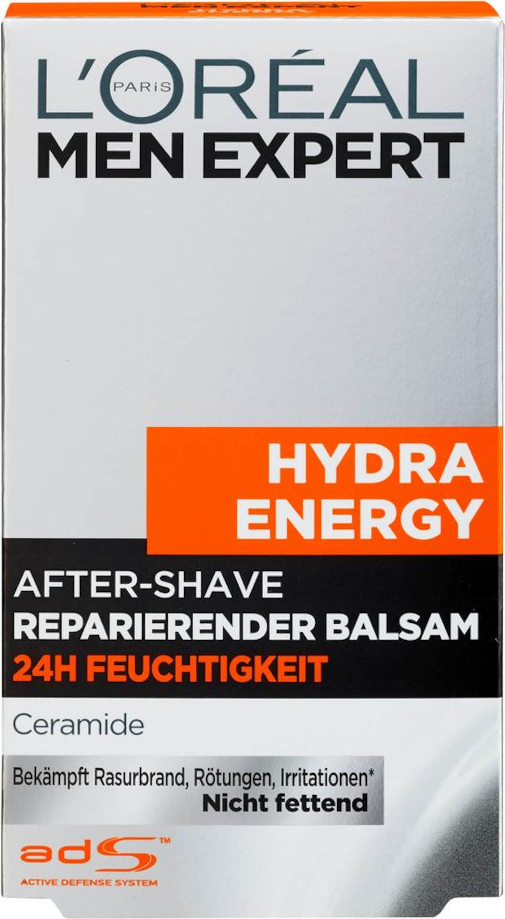 L'oréal Expert Paris Men After Energy' Shave Balsam In Weiß 'hydra hQdCstr