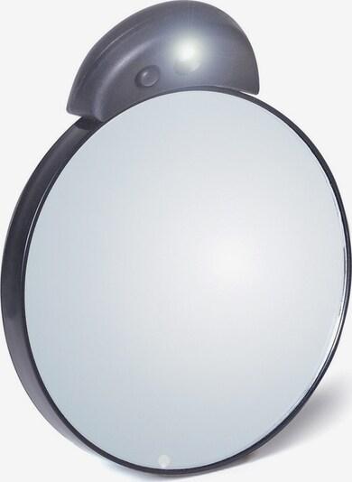 TWEEZERMAN 'Vergrößerungsspiegel', 10-fach mit Beleuchtung in silber, Produktansicht