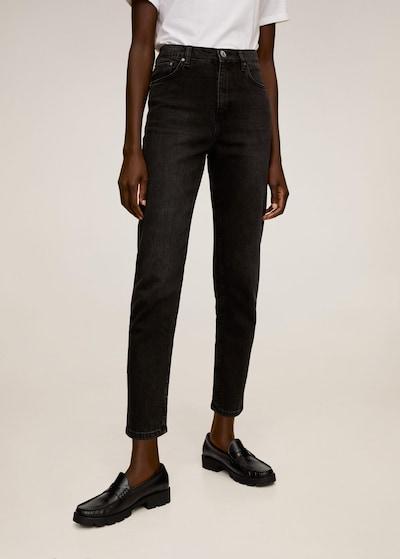 Jeans 'Newmom' MANGO pe negru, Vizualizare model