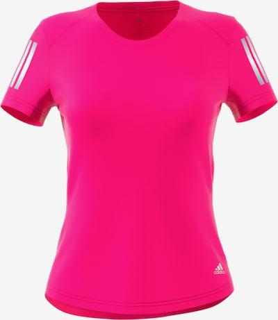 ADIDAS PERFORMANCE Shirt  'Own The Run' in fuchsia / weiß, Produktansicht