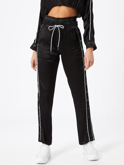 THE KOOPLES SPORT Pantalon 'Pantalon' en noir: Vue de face
