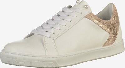 SPM Sneaker in gold / weiß, Produktansicht