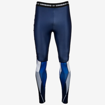 UMBRO Leggings 'Gravity' in blau, Modelansicht