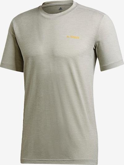 adidas Terrex Functioneel shirt in de kleur Grijs, Productweergave