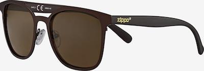 ZIPPO Sonnenbrille mit Steg Flash Braun in braun, Produktansicht