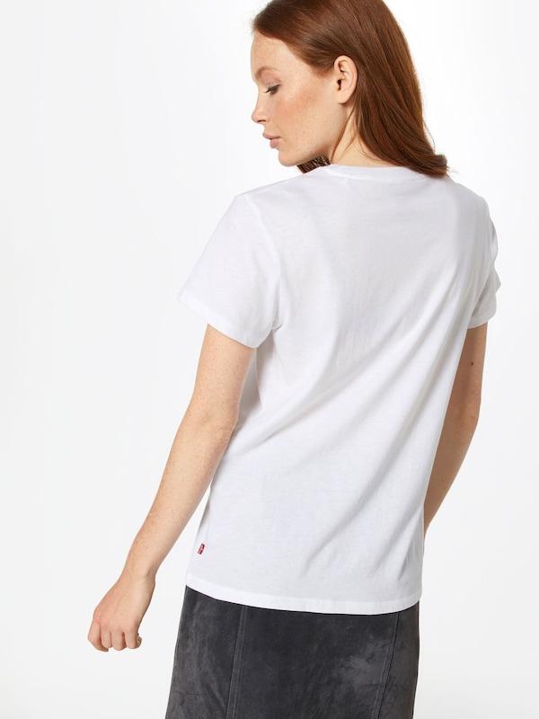 ClairBlanc En shirt Levi's Rouge T hsCBtrdxQ