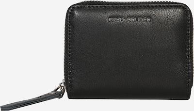 FREDsBRUDER Porte-monnaies 'Nugget' en noir, Vue avec produit
