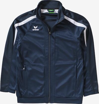 ERIMA Jacke in dunkelblau / weiß, Produktansicht
