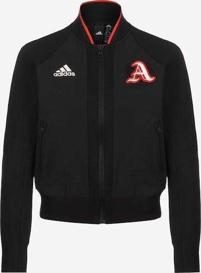 ADIDAS PERFORMANCE Sportjas in de kleur Lichtrood / Zwart / Wit, Productweergave