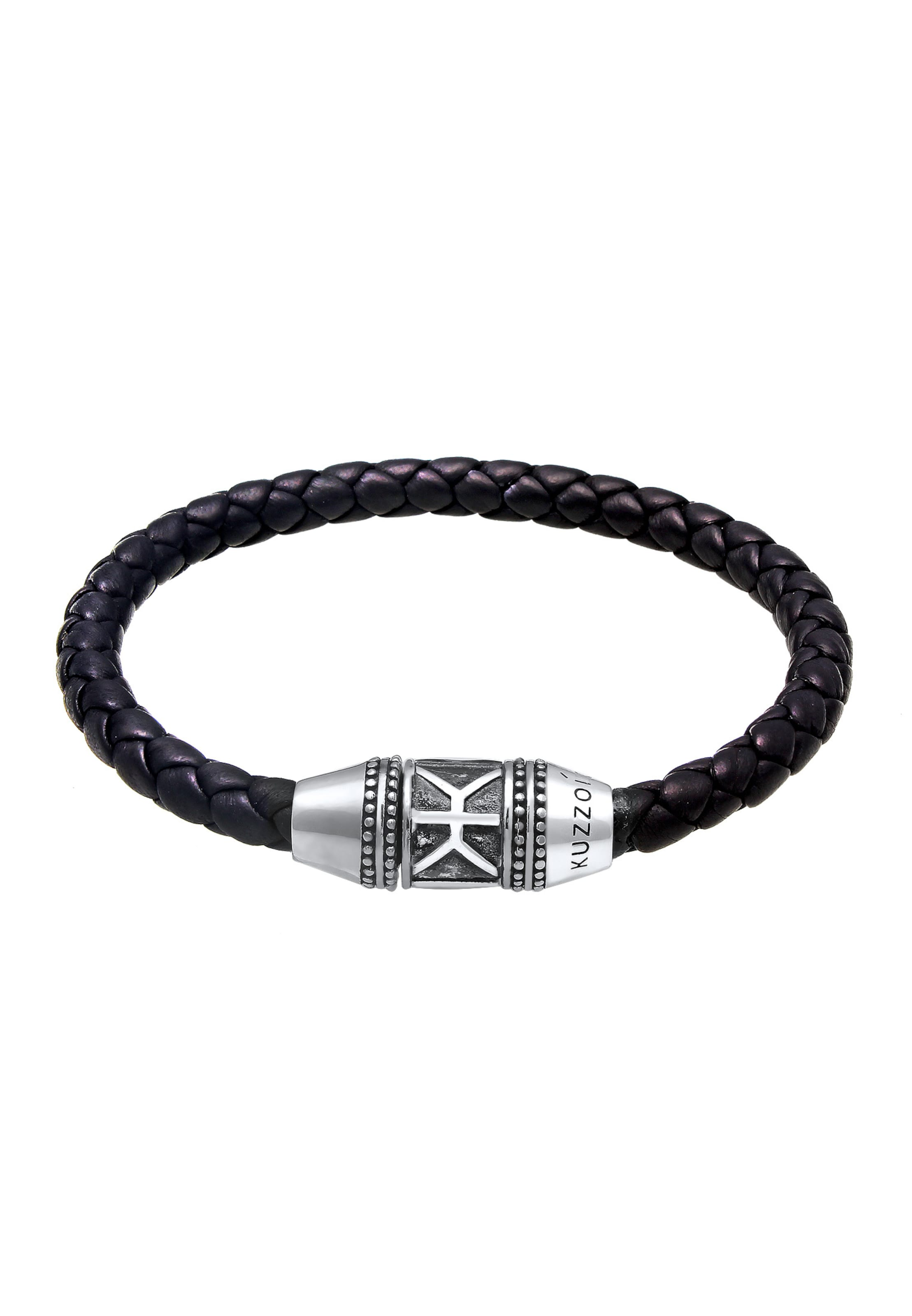 SchwarzSilber In In Kuzzoi Armband Kuzzoi Armband XZPiku