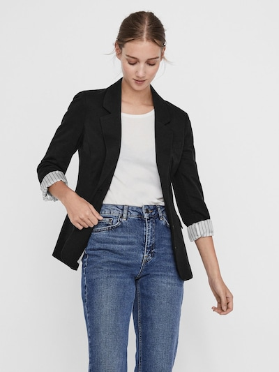 VERO MODA Jersey Blazer in schwarz, Modelansicht