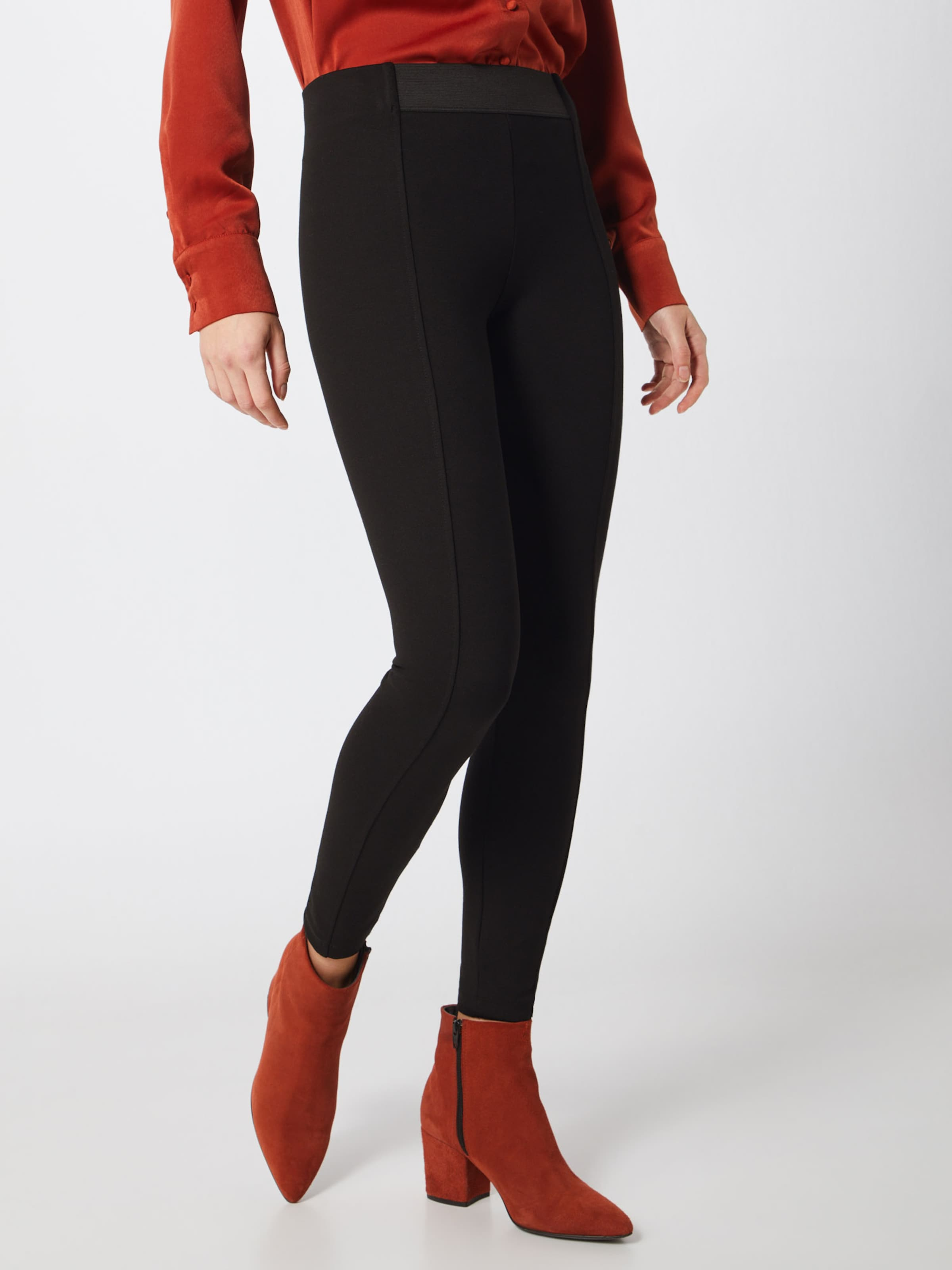 'eos Esprit Hose Knitted' Schwarz In Pants N8wOPXn0k