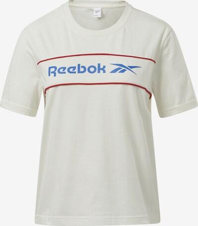 Reebok Classic T-Shirt in blau / rot / weiß, Produktansicht