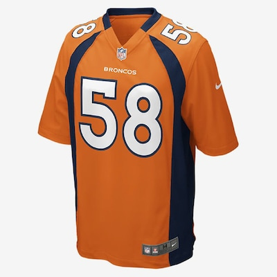 NIKE Trikot ' NFL Denver Broncos ' in orange: Frontalansicht