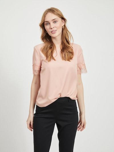 OBJECT Blusenshirt in apricot, Modelansicht