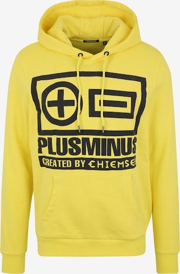 CHIEMSEE Sweatshirt in gelb / schwarz, Produktansicht
