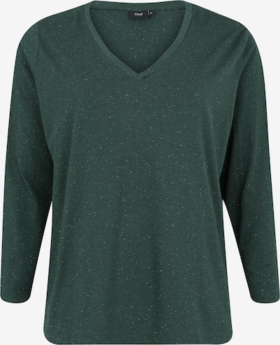 Zizzi Shirt 'MCHLOÉ' in de kleur Spar, Productweergave