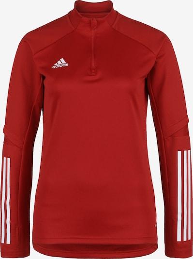 ADIDAS PERFORMANCE Sportief sweatshirt 'Condivo 20' in de kleur Rood / Wit, Productweergave