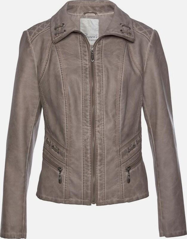 BOYSEN'S Jacke in taupe  Große Preissenkung