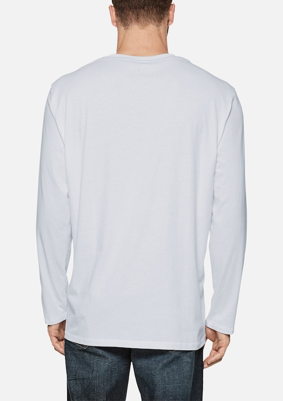 Longsleeve S oliver Label Wei Red FTnnaqB