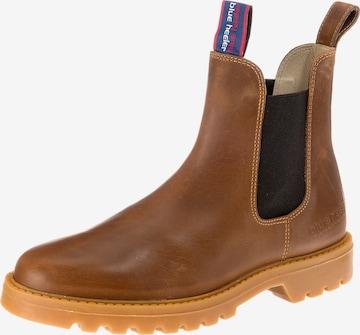 Blue Heeler Chelsea Boots 'Sydney' in Braun
