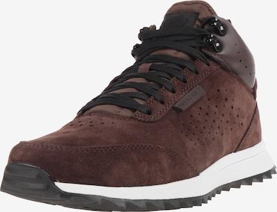 K1X Sneaker in dunkelbraun / weiß, Produktansicht