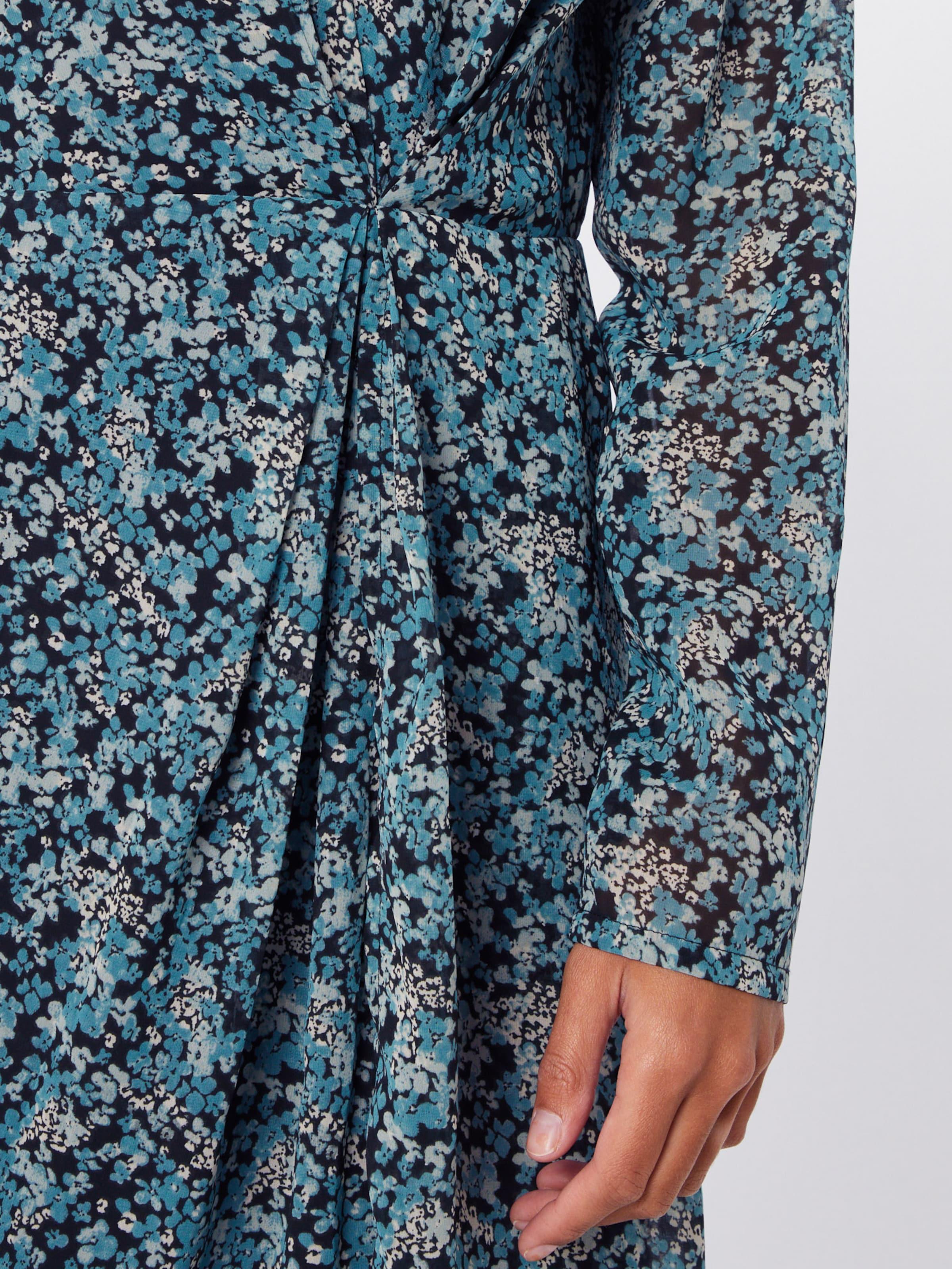 ICHI Kleid 'IHIZZIE' in himmelblau