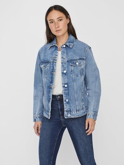 VERO MODA Jeansjacke 'VMKATRINA' in blue denim, Modelansicht