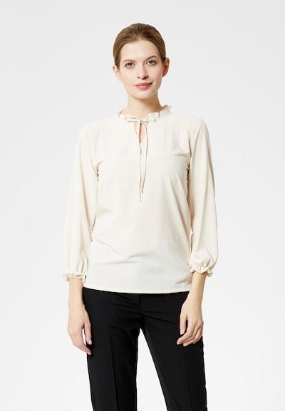 DREIMASTER Bluse in beige, Modelansicht