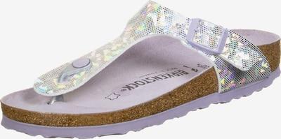 BIRKENSTOCK Sandalen ' Gizeh MF W ' in de kleur Sering / Lavendel / Lichtlila, Productweergave