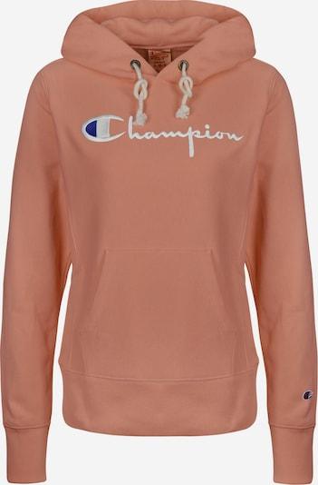 Champion Reverse Weave Hoodie ' W ' in rosa, Produktansicht
