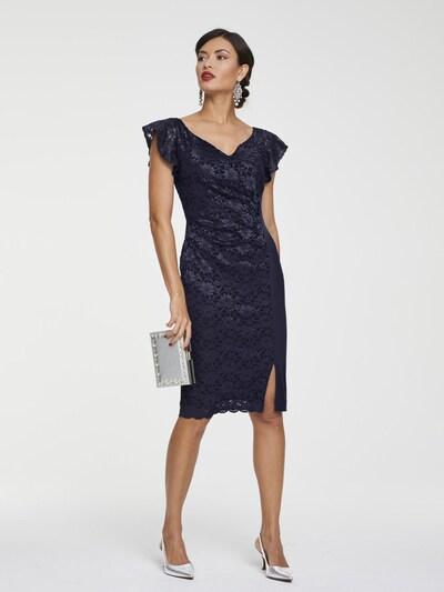 heine Cocktailkleid in marine, Modelansicht