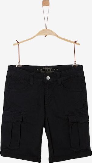 s.Oliver Shorts in schwarz, Produktansicht