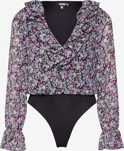 Missguided Bluza | črna barva, Prikaz izdelka