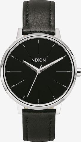 Orologio analogico 'Kensigton Leather' di Nixon in nero