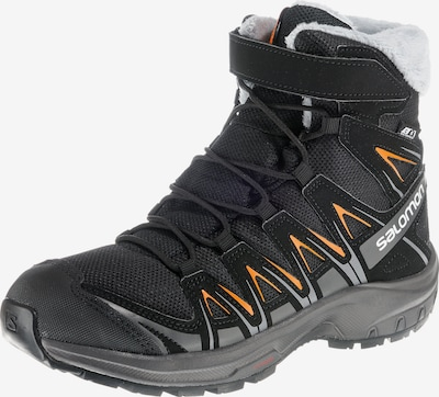 SALOMON Outdoorschuhe 'XA PRO 3D WINTER TS CSWP J' in grau / orange / schwarz, Produktansicht